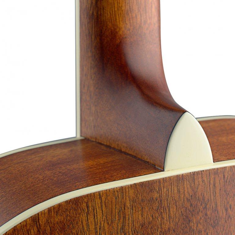 ASY-ACE Asyla Serie E//A Auditorium-Gitarre mit Cutaway und massiver Decke